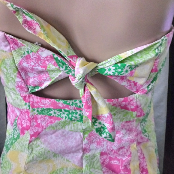 Lilly Pultizer Strapless Dress Size 6